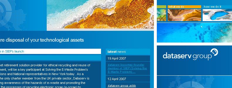 dataserv group website