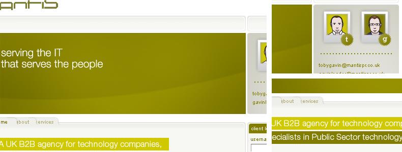mantis website